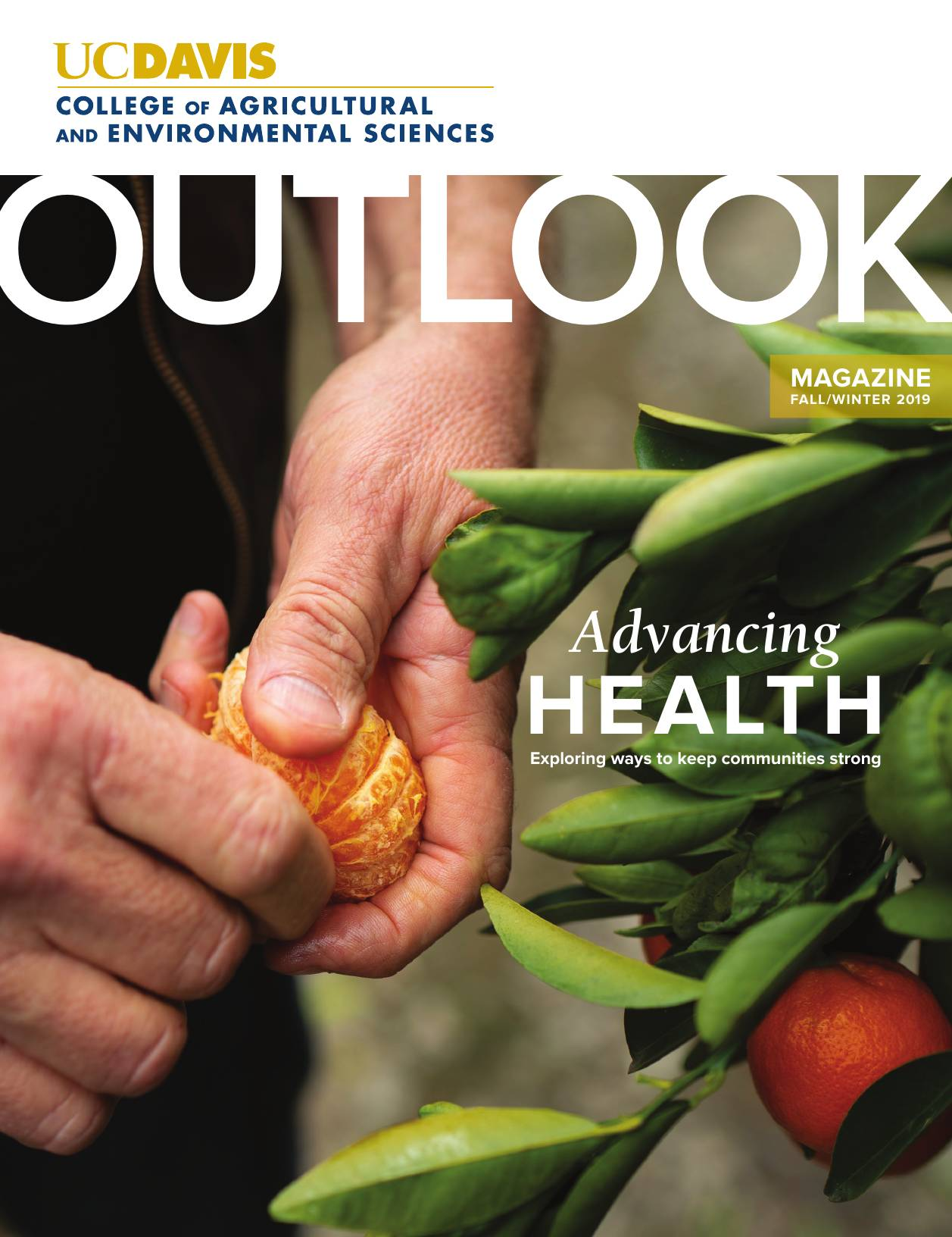 Cover of the Outlook Fall/Winter 2019