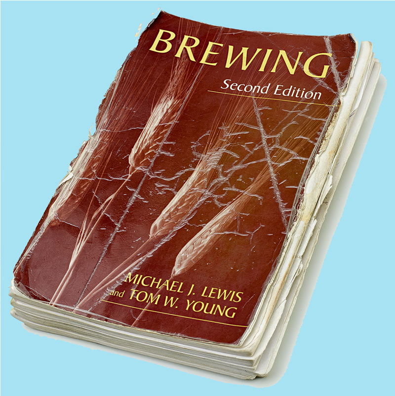 The textbook that went to Washington (photo courtesy the Archives Center Brewing History Collection, Archives Center, National Museum of American History)