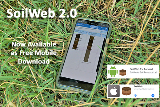 SoilWeb 2.0 now available as a free mobile download