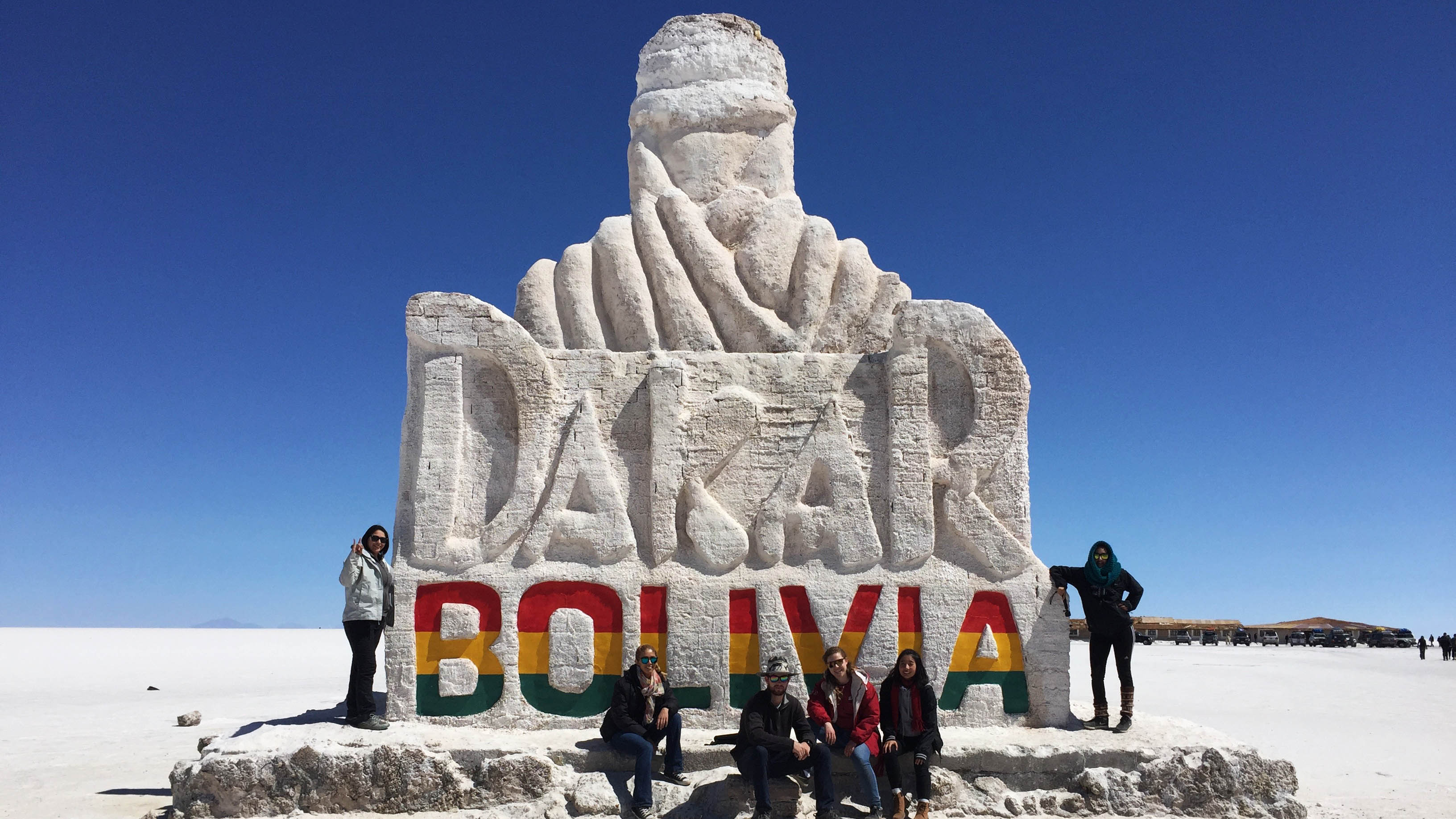 A three-day trip to the Salar de Uyuni in Bolivia with Study Abroad friends. (Photo Courtesy: Michelle Lee)