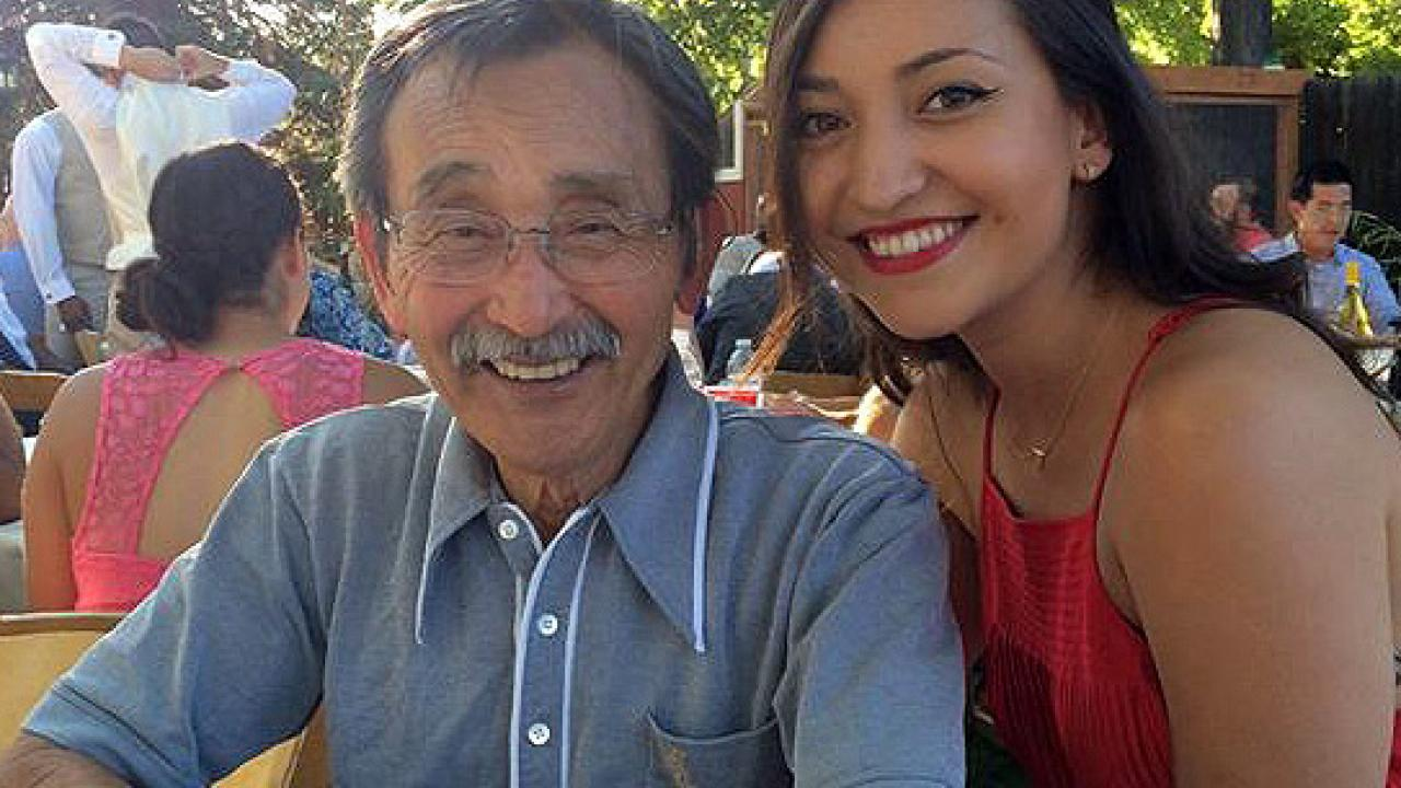 Isao Fujimoto, lecturer emeritus of Community Development and Asian American Studies at UC Davis, and his daughter, Esumi. (Photo courtesy of Isao Fujimoto)