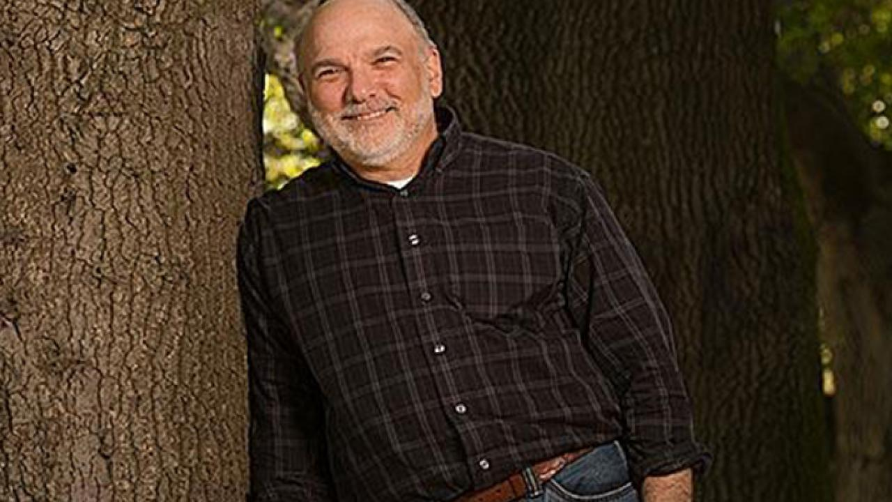 Dave Rizzo, an expert in plant diseases who helped identify the cause of sudden oak death, is the recipient of the 2017 UC Davis Prize for Undergraduate Teaching and Scholarly Achievement. (Gregory Urquiaga/UC Davis)