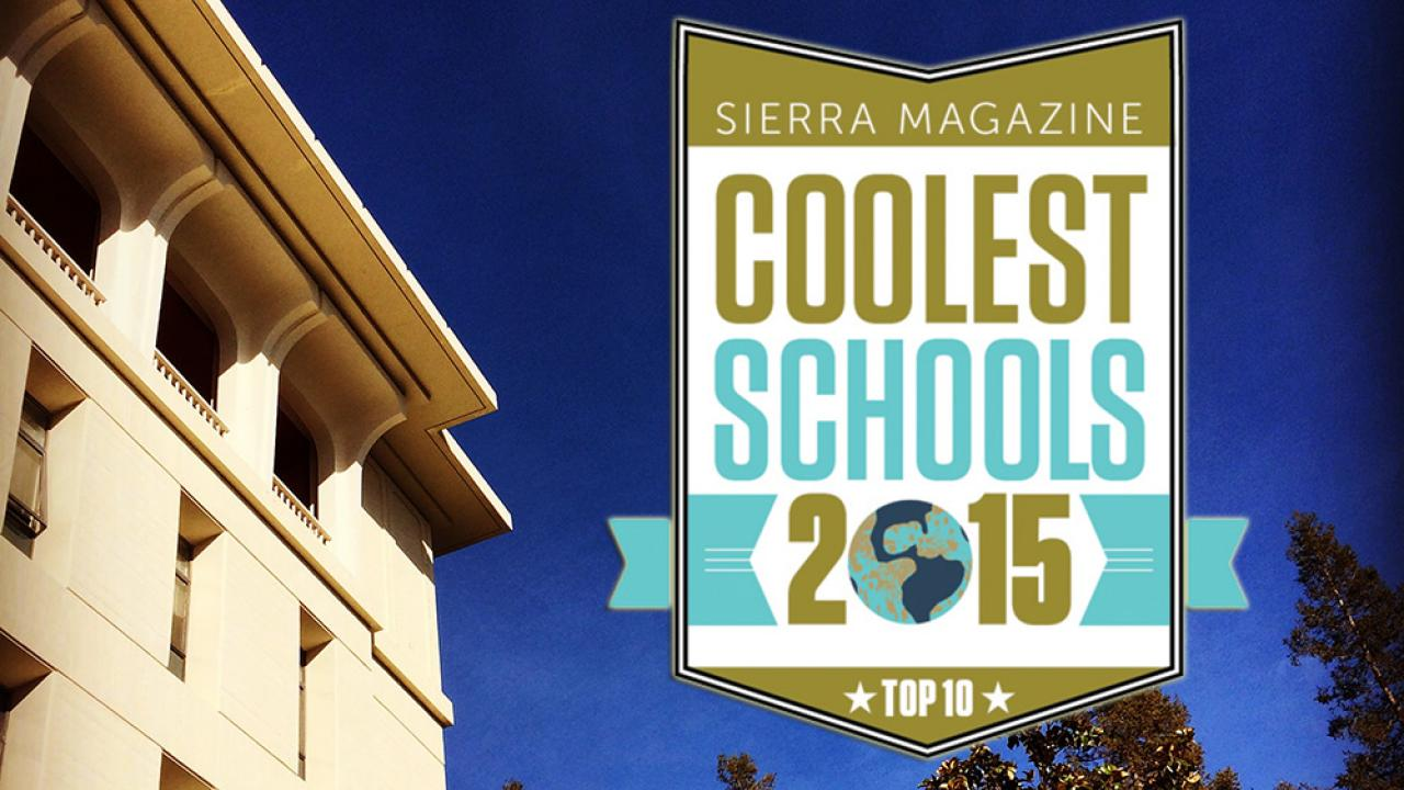 "Sierra compiled this year's ""Cool Schools"" rankings by evaluating more than 150 schools. (Photo Chris Nicolini / UC Davis 