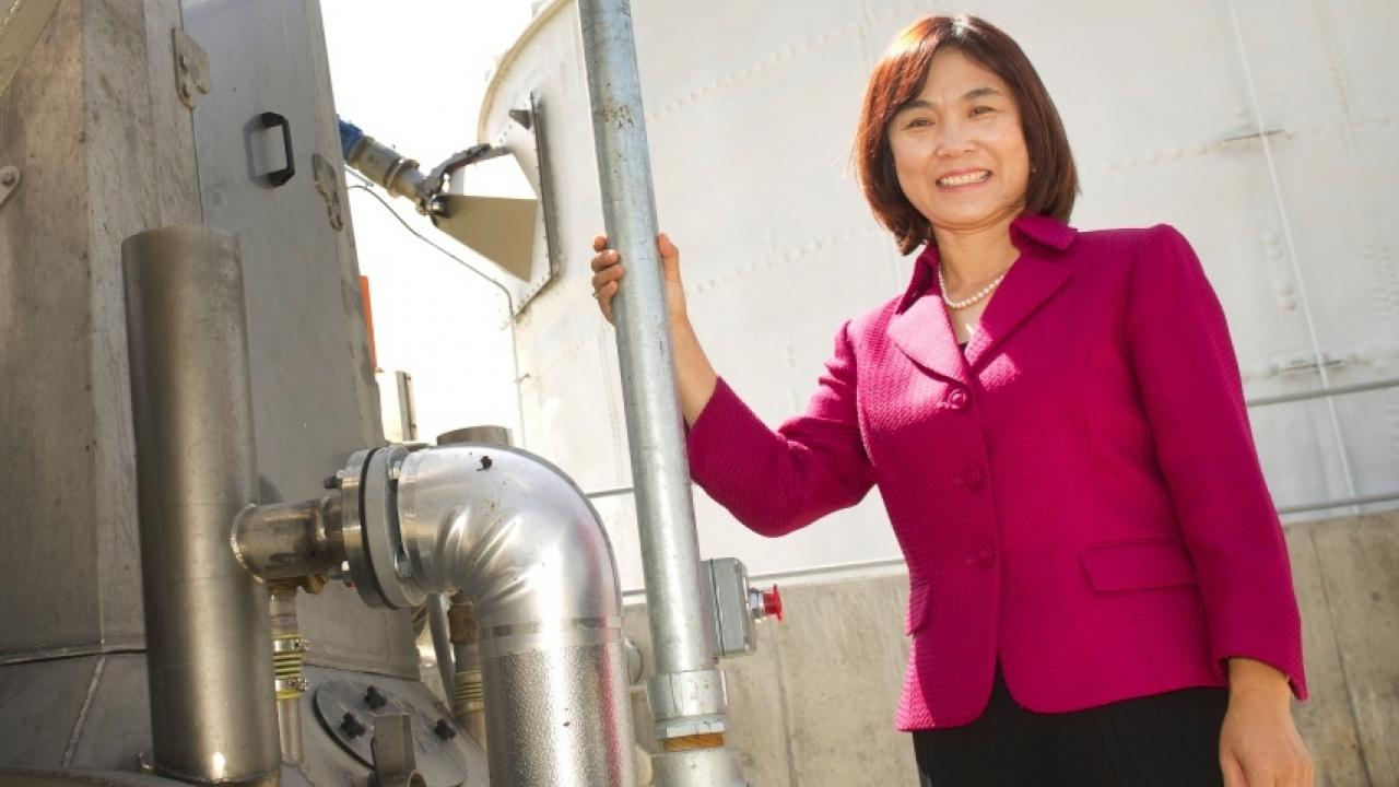 Professor Ruihong Zhang, UC Davis Department of Biological and Agricultural Engineering.
