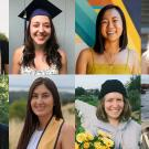 Eight of these outstanding students are being honored as the academic year officially draws to a close with virtual commencement ceremonies on Friday, June 12.