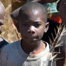 Children in Zambia. Climate change may trap rural populations of low-income countries in local poverty. (Credit: CIFOR)