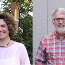 Associate Professor Maeli Melotto, left, and Professor Charlie Brummer have received NIFA grants for projects that advance leadership and diversity in graduate and postgraduate programs.